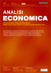 analisi economica dei dipartimenti delle dipendenze: prima analisi dei costi e valorizzazione dei risultati