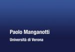 Manganotti P. - Presentazione Congresso Neuroscienze 2012