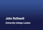 Rothwell J. - Presentazione Congresso Neuroscienze 2012