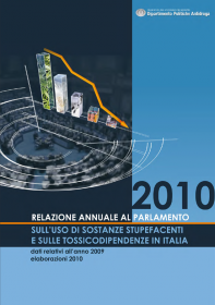 Relazione annuale al Parlamento sull'uso di sostanze stupefacenti e sulle tossicodipendenze in Italia